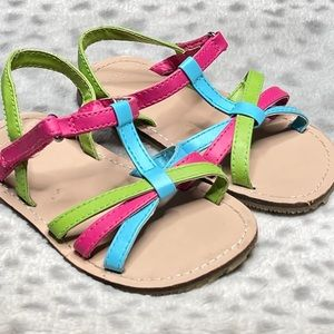 Gymboree Strappy Sandal Hook & Loop Open Toe